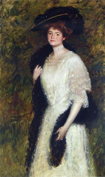 Ms. Helen Dixon, 1905 - William Merritt Chase
