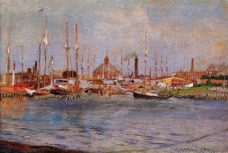 Near Bay Ridge, c.1888 - William Merritt Chase