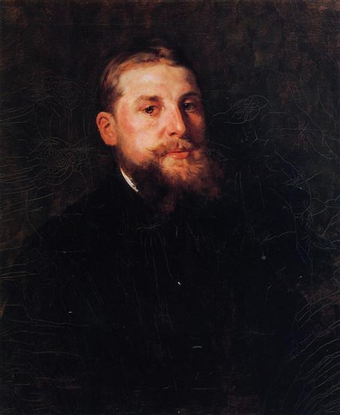 Portrait of a Gentleman, c.1878 - William Merritt Chase
