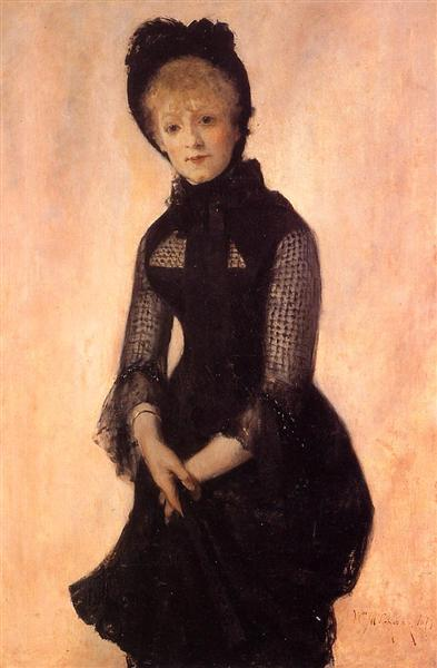 Portrait of Harriet Hubbard Ayer, 1879 - Уильям Меррит Чейз