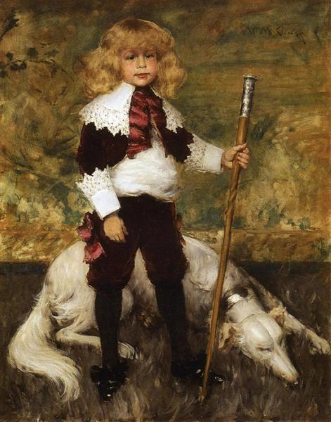 Portrait of James Rapelje Howell, 1886 - William Merritt Chase