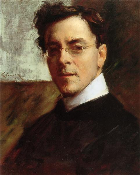 Portrait of Louis Betts - William Merritt Chase
