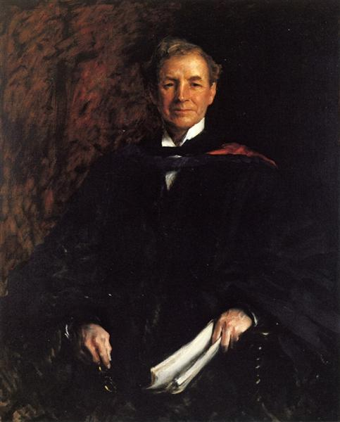 Portrait of President William Waugh Smith, 1907 - William Merritt Chase