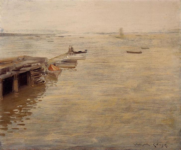 Seashore (aka A Grey Day), 1888 - William Merritt Chase