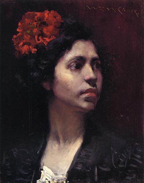 Spanish Girl - William Merritt Chase