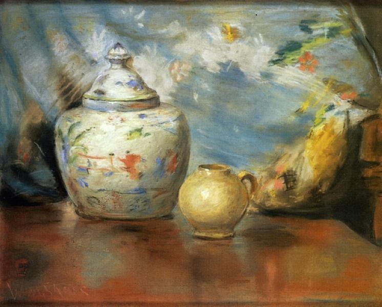 Still LIfe with Flowers, 1883 - William Merritt Chase