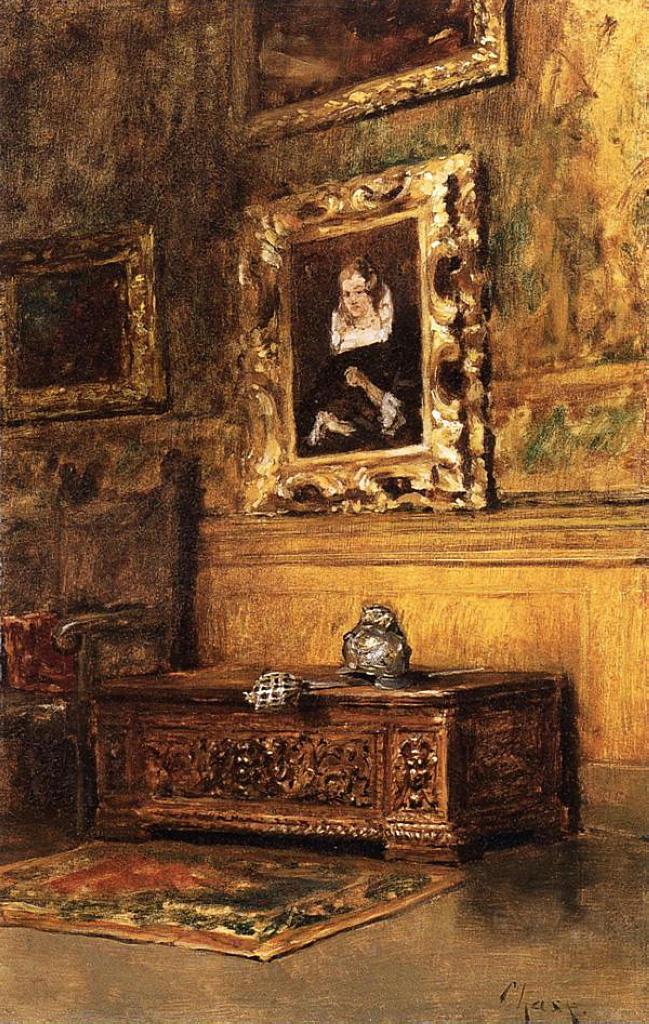 studio interior c 1879 william merritt chase wikiart org