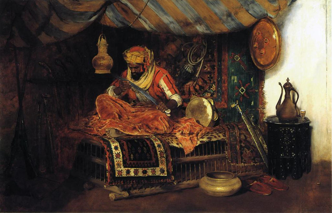 The Moorish Warrior - Chase William Merritt - WikiArt.org