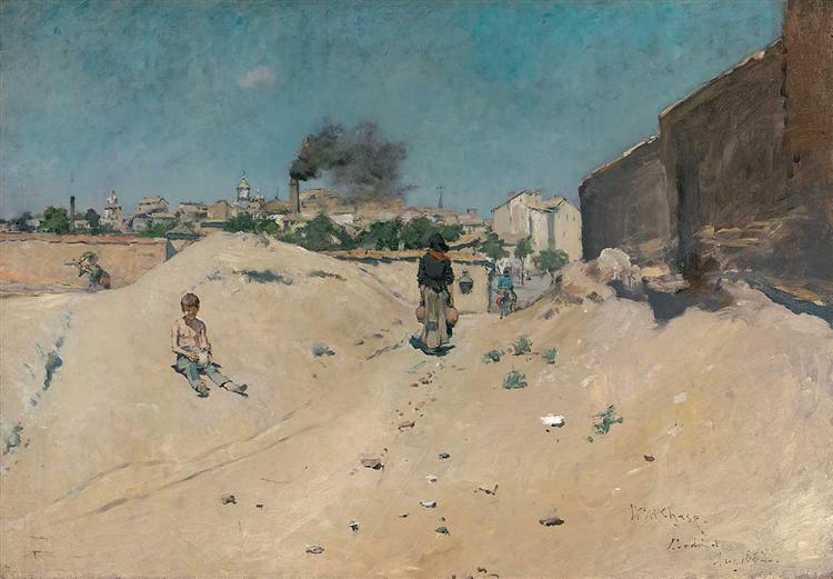 The Outskirts of Madrid, 1882 - William Merritt Chase