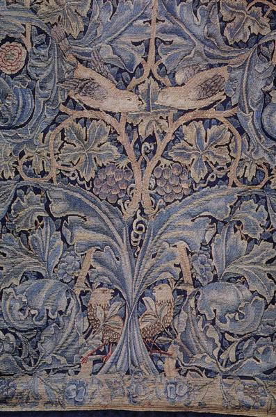 Cabbage and vine tapestry, 1879 - William Morris