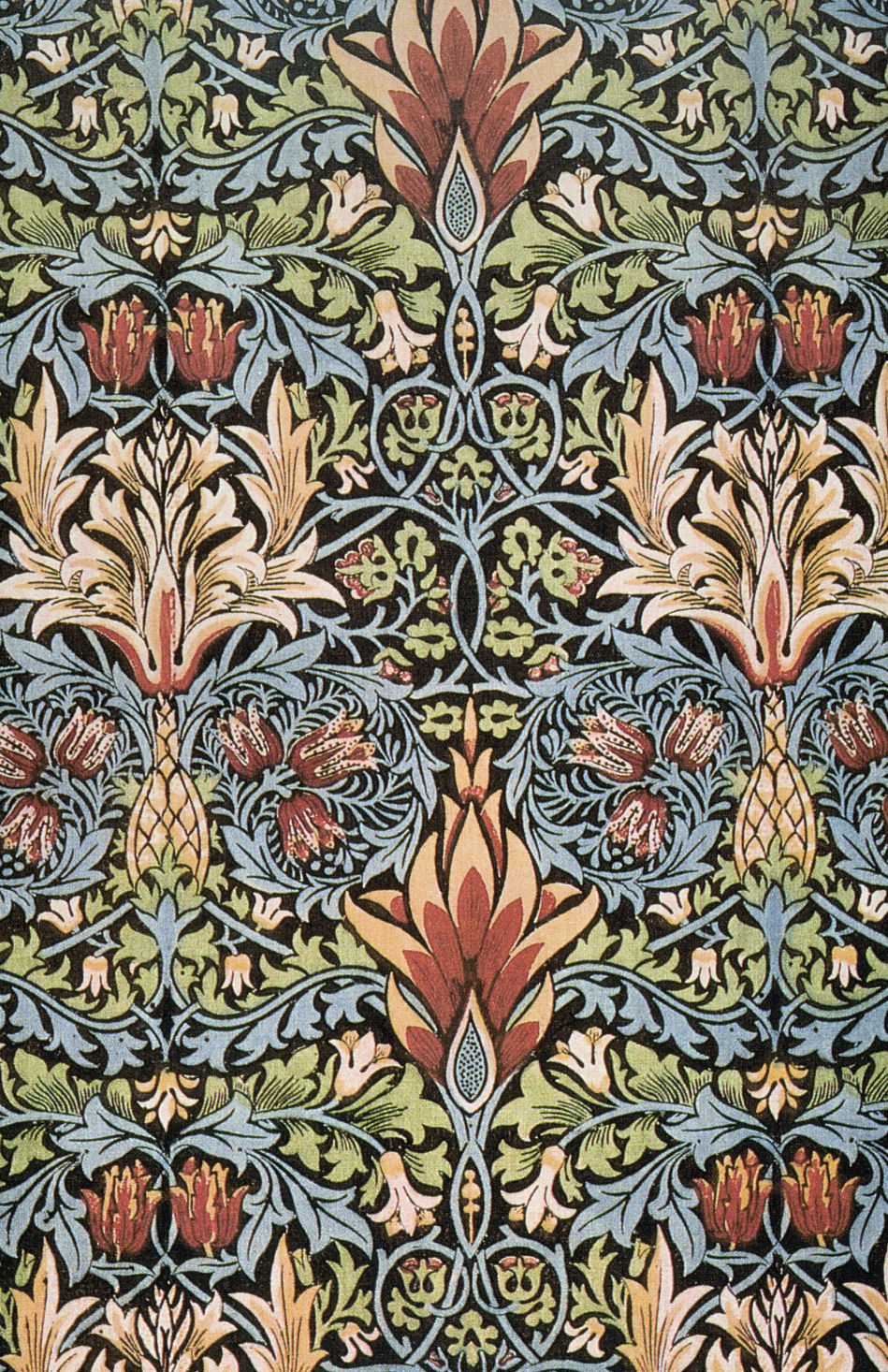 snakeshead printed textile 1876 william morris. Black Bedroom Furniture Sets. Home Design Ideas