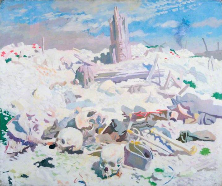 Thiepval, 1917 - William Orpen