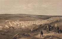 Camp of the naval brigade, before Sebastopol - Вільям Сімпсон