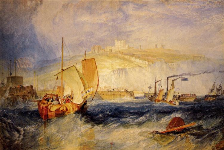Замок Довер - Вільям Тернер