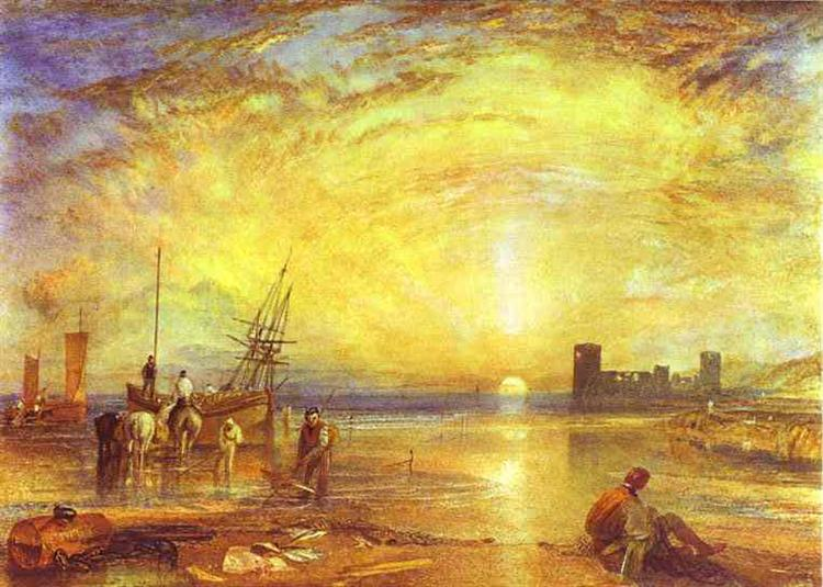 Flint Castle, 1838 - William Turner