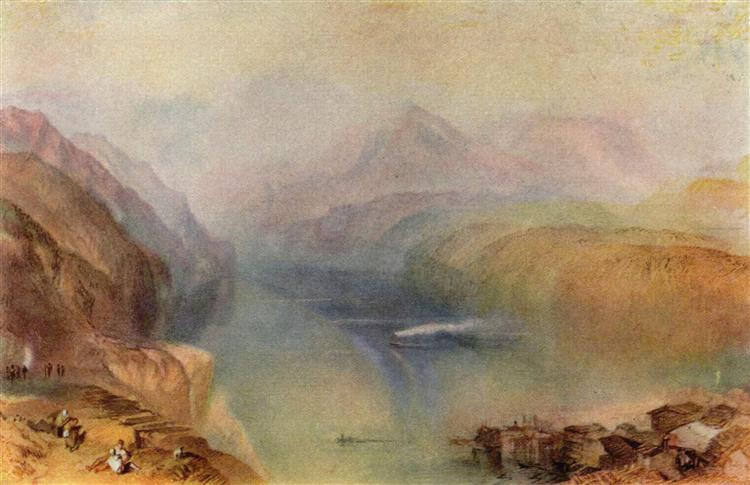 Lake Lucerne, 1802 - William Turner