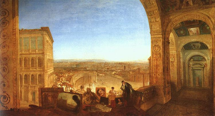 Rome from the Vatican, 1820 - J.M.W. Turner