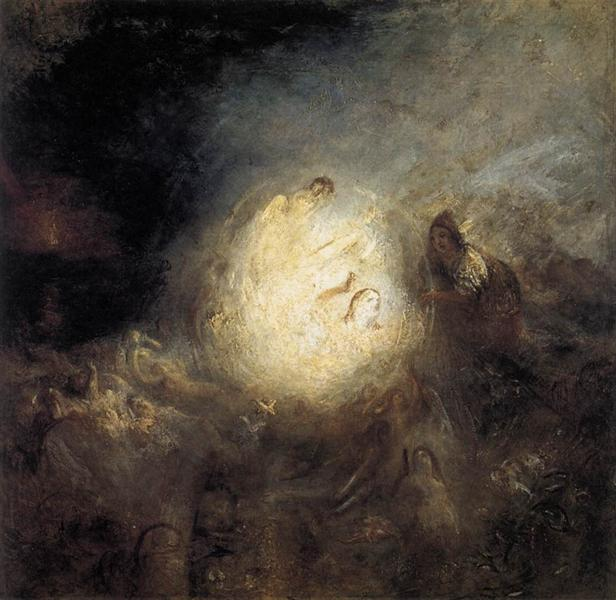 Undine Giving the Ring to Massaniello, Fisherman of Naples, 1846 - J.M.W. Turner