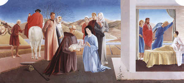 Scenes from the Life of St. Martin of Tours, 1928 - 1933 - Winifred Knights