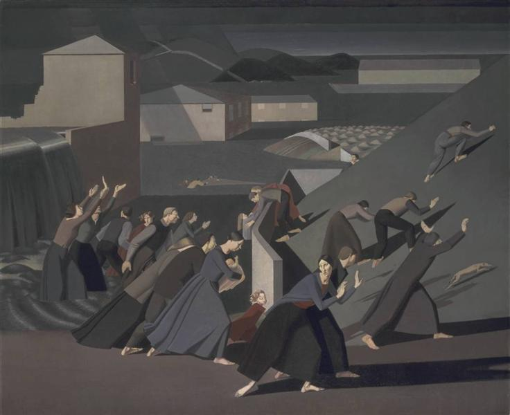 The Deluge, 1920 - Winifred Knights