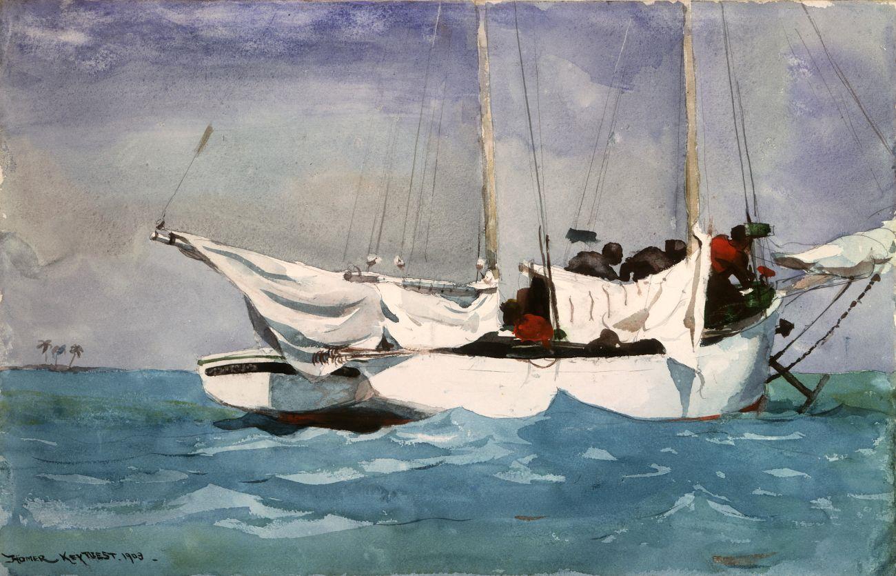 Caribbian Blue Boat Paint