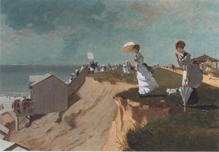 Long Branch, New Jersey, 1869 - Winslow Homer