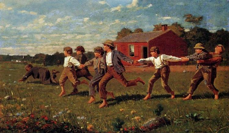 Snap the Whip, 1872 - Winslow Homer