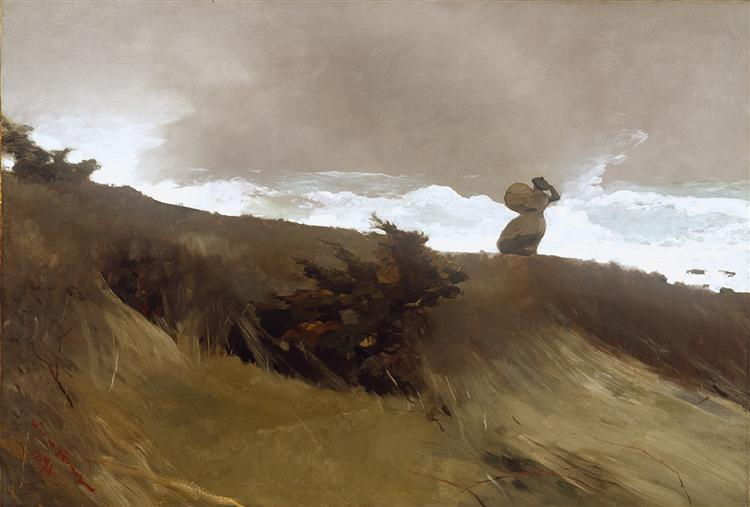 The West Wind - Homer Winslow