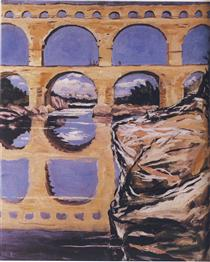 The Pont du Gard - Winston Churchill