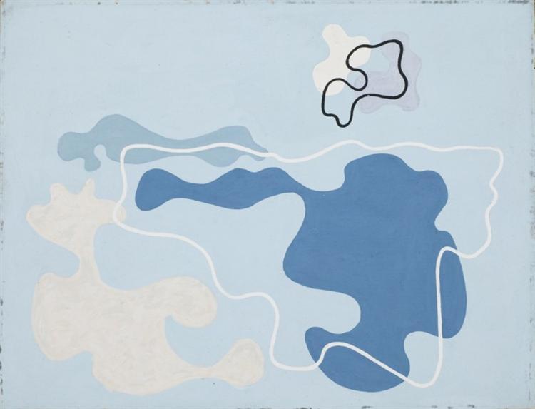 Pejzaż morski, 2 VII, 1934 - Wladyslaw Strzeminski