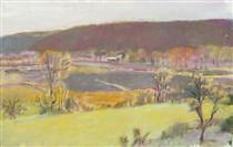 Putney Valley - Wolf Kahn