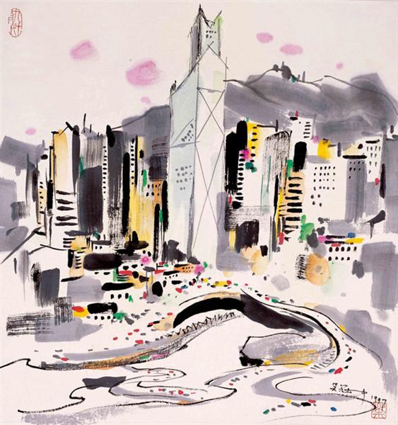 Hong Kong - Wu Guanzhong