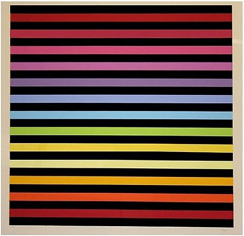 Untitled (Rainbow) - Yaacov Agam