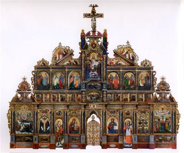 The Maniava Hermitage iconostasis, 1698 - 1705 - Yov Kondzelevych