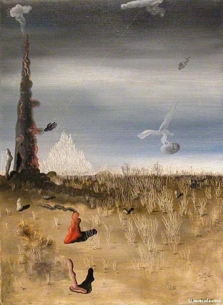 Extinction of Useless Lights, 1927 - Yves Tanguy