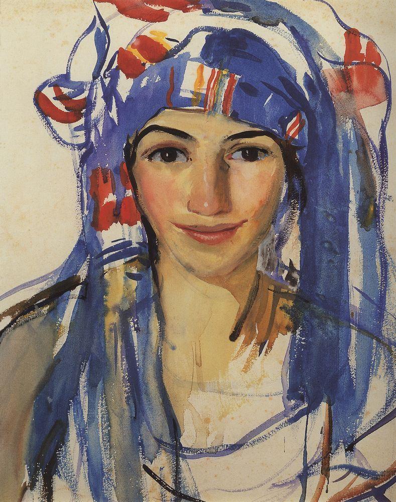 Self portrait 1910 jury annenkov wikiart org