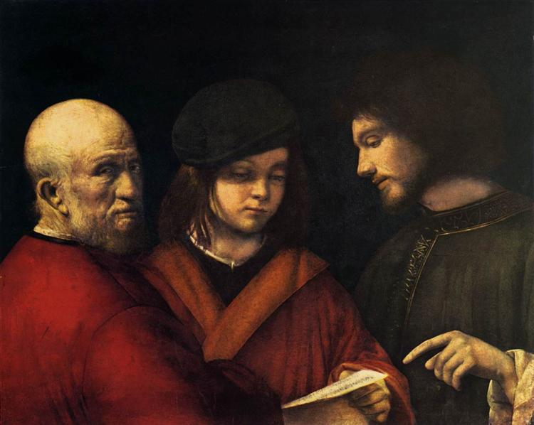 The Three Ages of Man, 1500 - 1501 - Giorgione
