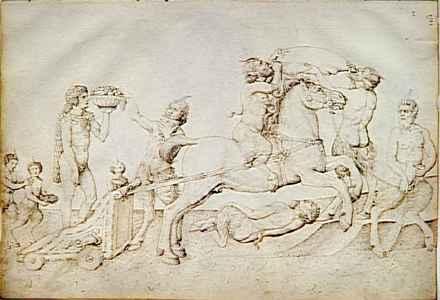 Le triomphe de Bacchus - Jacopo Bellini